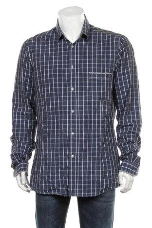 Мъжка риза Diesel Black Gold, Размер XL, Цвят Син, Памук, Цена 100,80лв.