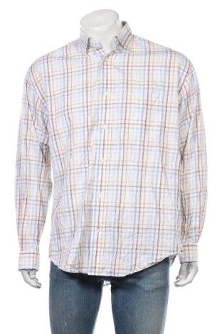 Мъжка риза Faconnable, Размер L, Цвят Многоцветен, Памук, Цена 127,05лв.