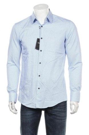 Pánská košile  Hugo Boss, Velikost M, Barva Modrá, Bavlna, Cena  2222,00Kč