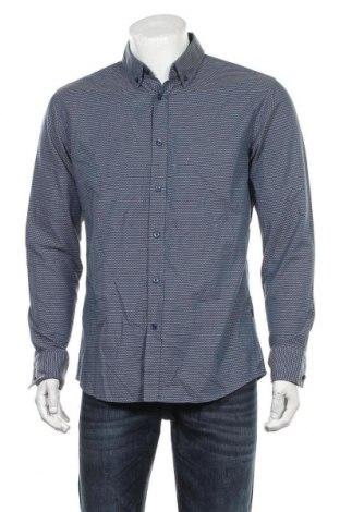 Pánská košile  Hugo Boss, Velikost L, Barva Modrá, 97% bavlna, 3% elastan, Cena  1917,00Kč