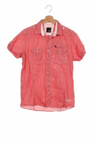 Мъжка риза Jack & Jones, Размер S, Цвят Червен, Памук, Цена 20,25лв.
