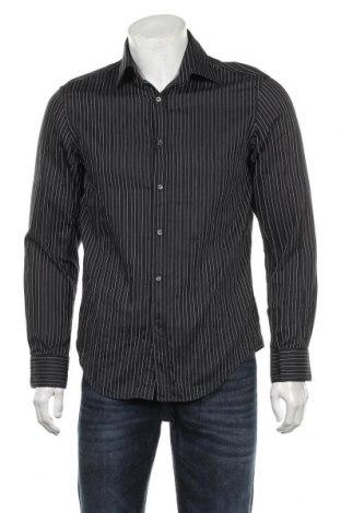 Ανδρικό πουκάμισο Joop!, Μέγεθος M, Χρώμα Μαύρο, Βαμβάκι, Τιμή 37,03€