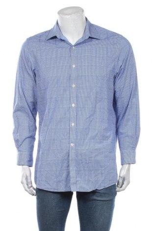Pánská košile  Michael Kors, Velikost L, Barva Modrá, Bavlna, Cena  1371,00Kč