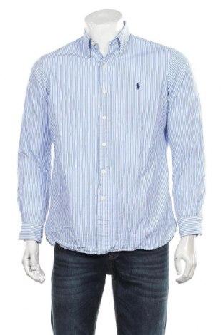 Ανδρικό πουκάμισο Ralph Lauren, Μέγεθος M, Χρώμα Μπλέ, 98% βαμβάκι, 2% ελαστάνη, Τιμή 22,08€