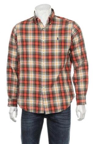 Ανδρικό πουκάμισο Ralph Lauren, Μέγεθος M, Χρώμα Πολύχρωμο, 80% βαμβάκι, 20% μαλλί, Τιμή 23,38€