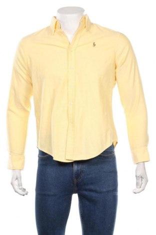 Ανδρικό πουκάμισο Ralph Lauren, Μέγεθος S, Χρώμα Κίτρινο, Βαμβάκι, Τιμή 21,80€