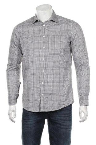 Мъжка риза Sand, Размер S, Цвят Сив, Памук, Цена 36,75лв.
