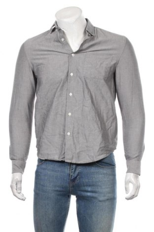 Мъжка риза Topman, Размер S, Цвят Сив, Памук, Цена 25,20лв.