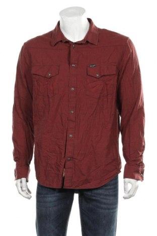 Pánská košile  Wrangler, Velikost XXL, Barva Hnědá, Bavlna, Cena  542,00Kč