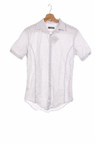 Мъжка риза Zara Man, Размер S, Цвят Сив, Памук, Цена 21,00лв.