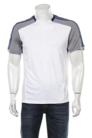 Мъжка тениска Adidas, Размер M, Цвят Бял, Полиестер, Цена 18,75лв.