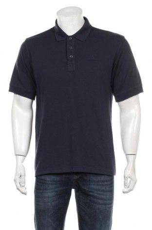 Мъжка тениска Adidas, Размер M, Цвят Син, Цена 21,00лв.