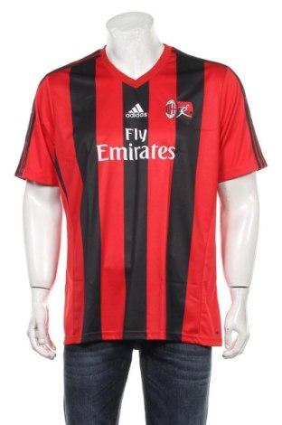 Мъжка тениска Adidas, Размер XL, Цвят Черен, Полиестер, Цена 58,50лв.