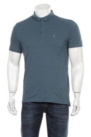 Мъжка тениска AllSaints, Размер M, Цвят Син, Памук, Цена 24,15лв.