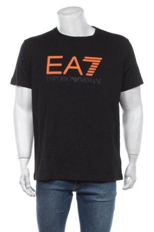 Tricou de bărbați Emporio Armani, Mărime XXL, Culoare Negru, Bumbac, Preț 460,89 Lei