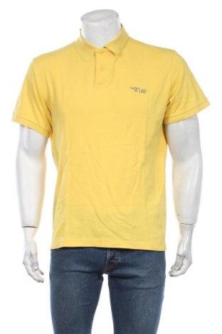 Мъжка тениска Esprit, Размер XL, Цвят Жълт, Памук, Цена 18,90лв.