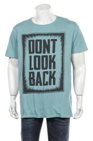 Мъжка тениска Esprit, Размер XXL, Цвят Син, Памук, Цена 23,00лв.