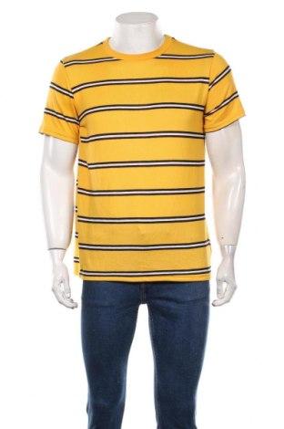 Мъжка тениска Forever 21, Размер S, Цвят Жълт, 96% полиестер, 4% еластан, Цена 17,85лв.