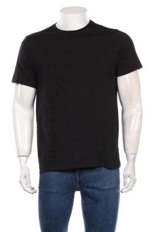 Мъжка тениска H&M, Размер M, Цвят Черен, Памук, Цена 21,00лв.