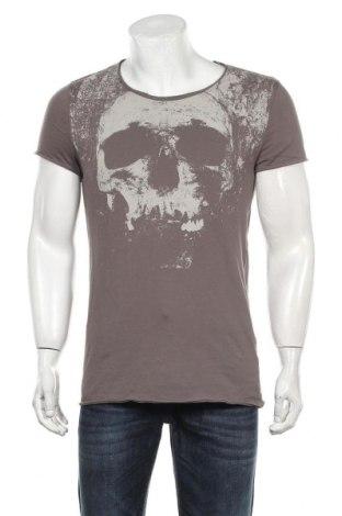 Мъжка тениска H&M Divided, Размер S, Цвят Сив, Памук, Цена 18,00лв.