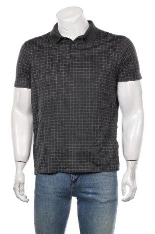 Мъжка тениска Hugo Boss, Размер L, Цвят Сив, Памук, Цена 58,80лв.