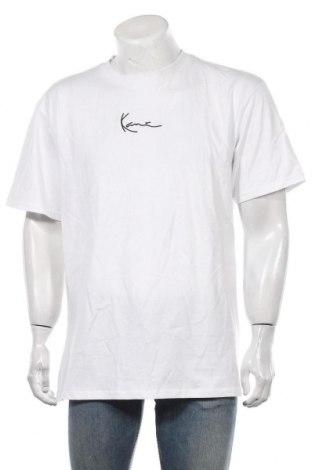 Мъжка тениска Karl Kani, Размер M, Цвят Бял, Памук, Цена 35,70лв.