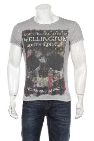 Мъжка тениска Key Largo, Размер S, Цвят Сив, Памук, Цена 18,00лв.