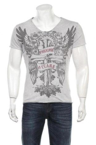 Мъжка тениска Key Largo, Размер S, Цвят Бял, Памук, Цена 18,00лв.