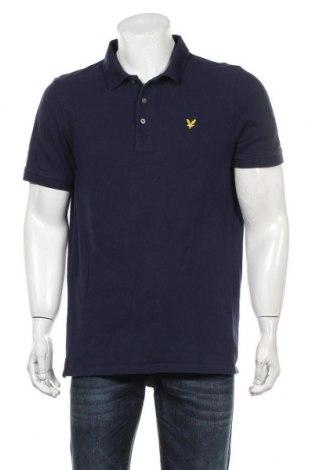 Мъжка тениска Lyle & Scott, Размер XL, Цвят Син, Памук, Цена 32,00лв.