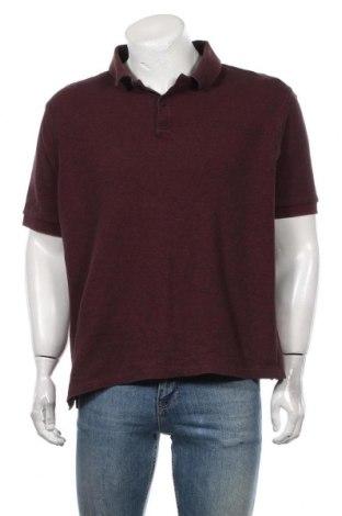 Мъжка тениска Marks & Spencer, Размер XXL, Цвят Червен, Памук, Цена 16,80лв.