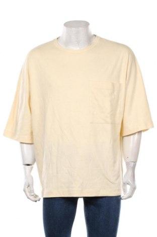 Pánské tričko  NU-IN, Velikost XL, Barva Krémová, Bavlna, Cena  201,00Kč