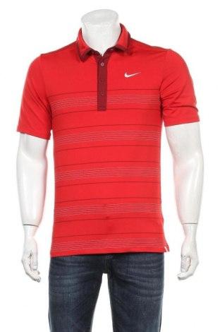 Мъжка тениска Nike, Размер S, Цвят Червен, 88% полиестер, 12% еластан, Цена 25,50лв.