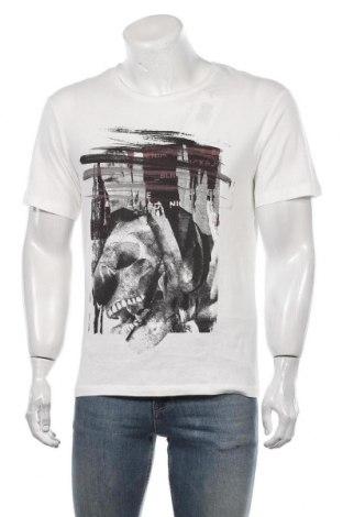 Мъжка тениска Originals By Jack & Jones, Размер S, Цвят Бял, Памук, Цена 51,45лв.