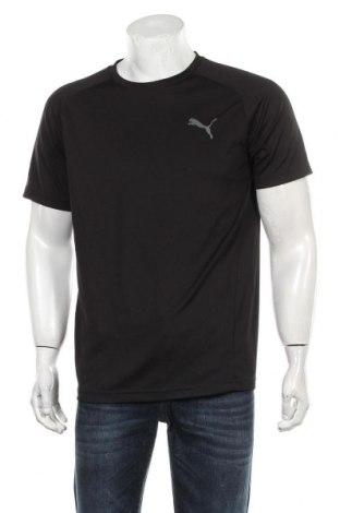 Мъжка тениска PUMA, Размер M, Цвят Черен, Полиестер, Цена 25,50лв.