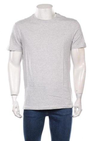 Мъжка тениска Pier One, Размер L, Цвят Сив, 95% памук, 5% вискоза, Цена 27,30лв.