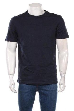 Мъжка тениска Pier One, Размер L, Цвят Син, Памук, Цена 30,45лв.