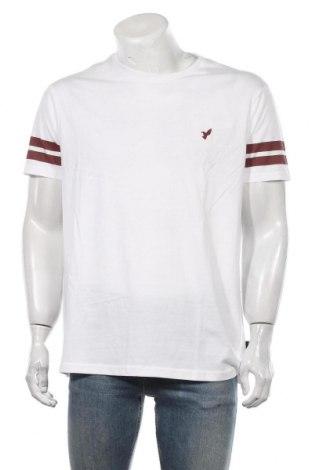 Мъжка тениска Pier One, Размер XL, Цвят Бял, Памук, Цена 27,30лв.
