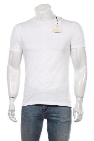 Мъжка тениска Pier One, Размер S, Цвят Бял, Памук, Цена 30,45лв.