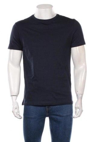 Мъжка тениска Pier One, Размер M, Цвят Син, Памук, Цена 30,45лв.