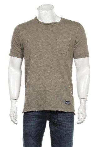 Мъжка тениска Superdry, Размер L, Цвят Зелен, Памук, Цена 32,00лв.