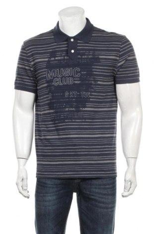 Мъжка тениска Tom Tailor, Размер M, Цвят Син, Памук, Цена 29,00лв.