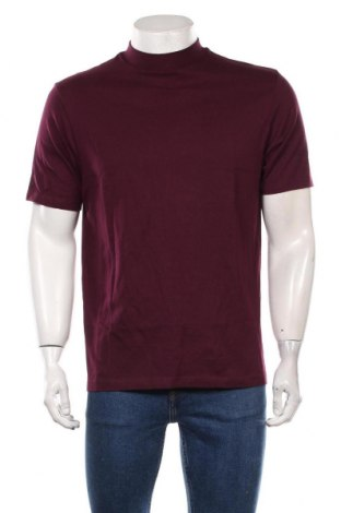 Мъжка тениска Topman, Размер L, Цвят Червен, Памук, Цена 37,80лв.