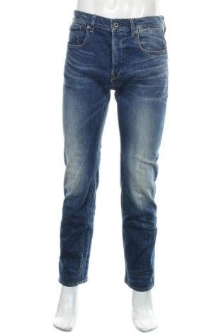 Мъжки дънки G-Star Raw, Размер M, Цвят Син, 91% памук, 7% полиестер, 2% еластан, Цена 51,75лв.