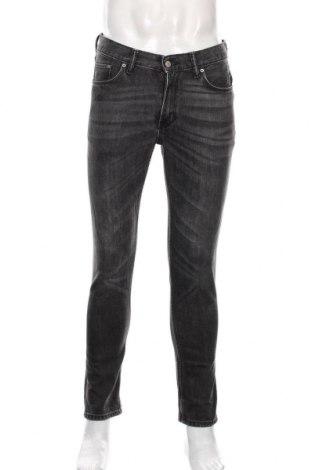 Мъжки дънки H&M, Размер M, Цвят Сив, 98% памук, 2% еластан, Цена 25,50лв.