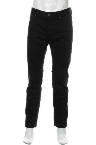 Pánské džíny  Hugo Boss, Velikost L, Barva Černá, 95% bavlna, 4% polyester, 1% elastan, Cena  1148,00Kč