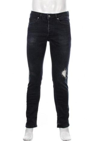 Мъжки дънки Topman, Размер M, Цвят Син, 98% памук, 2% еластан, Цена 29,40лв.