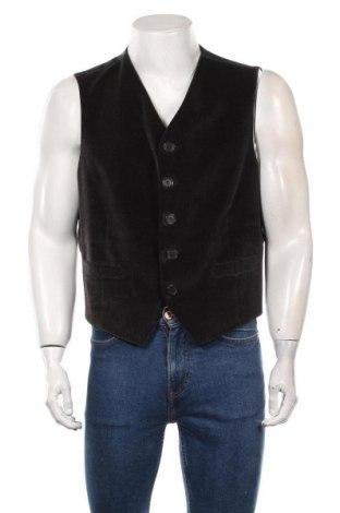 Мъжки елек Giorgio Armani, Размер M, Цвят Черен, Цена 69,30лв.