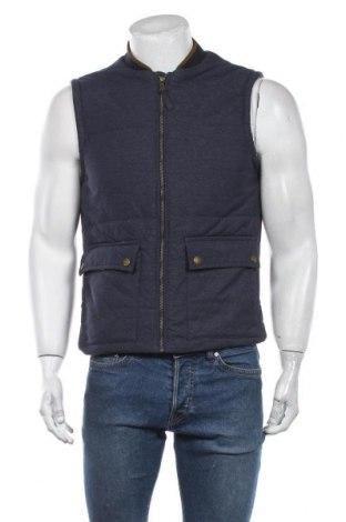 Мъжки елек H&M, Размер M, Цвят Син, Цена 37,80лв.