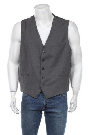 Мъжки елек Lawrence Grey, Размер XXL, Цвят Сив, 96% вълна от алпака, 4% еластан, Цена 36,86лв.