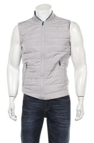 Мъжки елек Zara Man, Размер L, Цвят Сив, Полиестер, Цена 36,75лв.